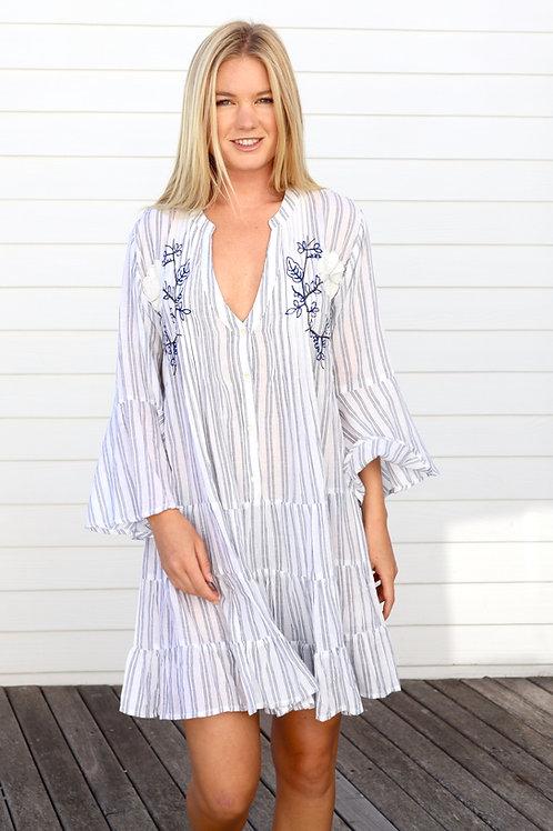 Love Positano, Striped Dress