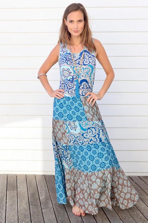 Beach Boho-Chic Maxi Dress