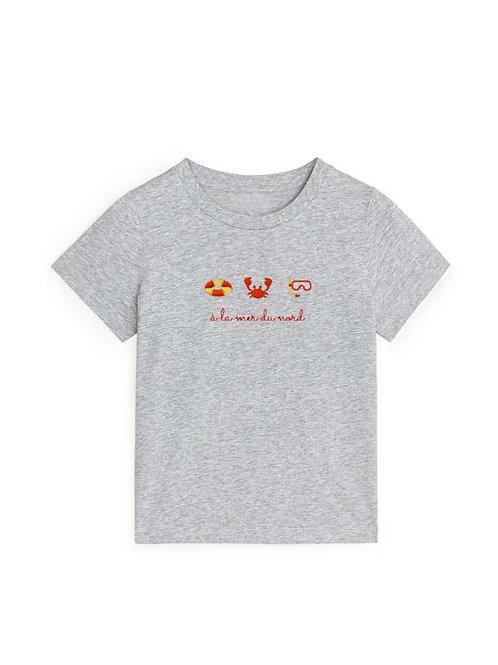 T-shirt 'à la mer du nord'