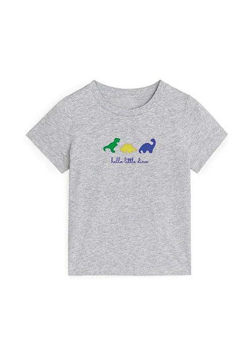 T-shirt 'hello little dino'
