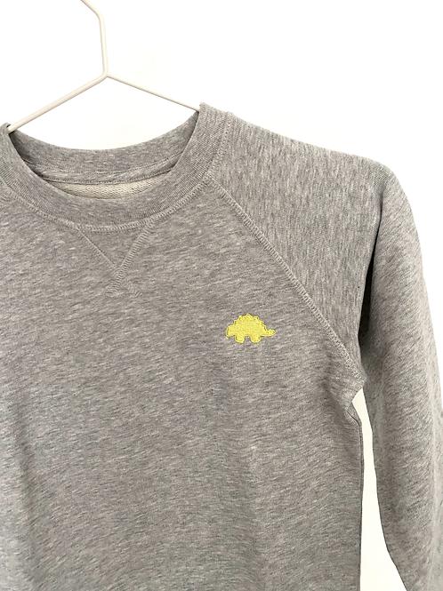 Sweatshirt yellow dino