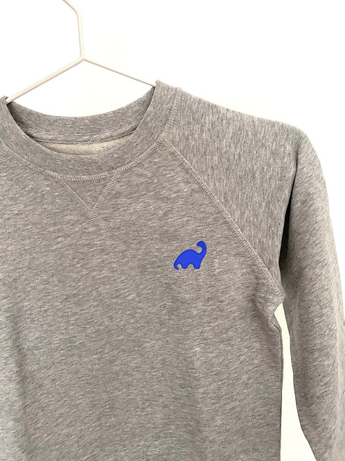 Sweatshirt blue dino
