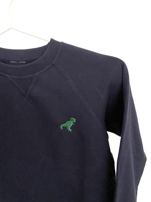 Sweatshirt green dino