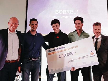 Jorn Hofman wint Rabo Ondernemersprijs van 10.000 euro