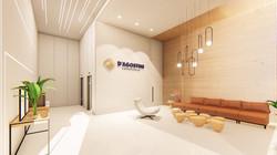 Hall do Edifício Empresarial D'Agostini
