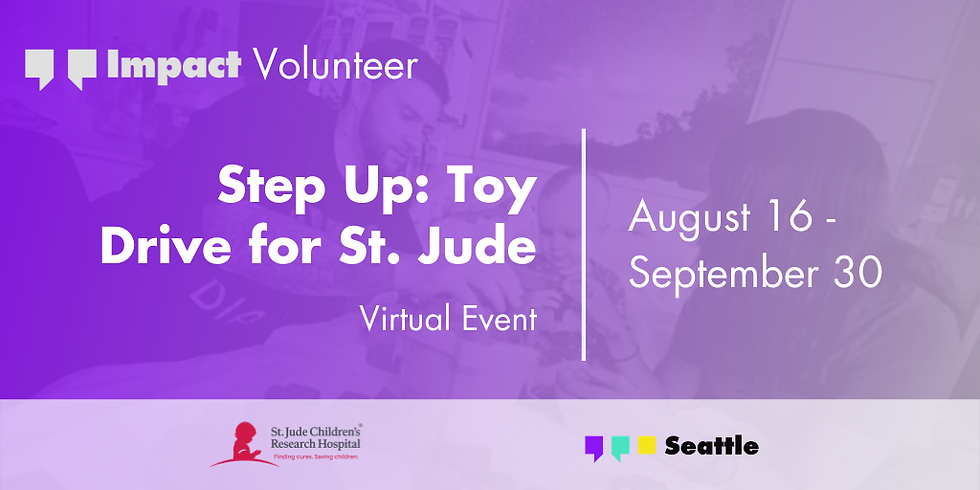 Step Up: Toy Drive for St. Jude (EXTENDED)