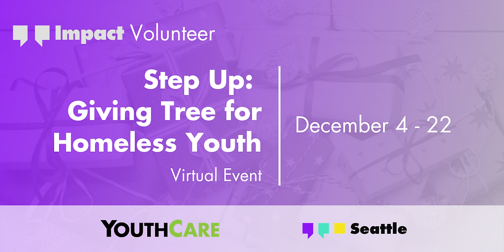 Step Up: Giving Tree for Homeless Youth
