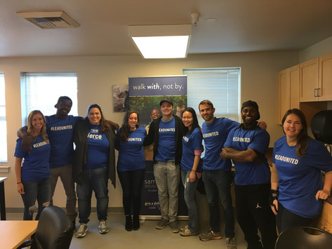 YP Impact Volunteer Event Recap: Providing a Beacon of Hope with Samaritan