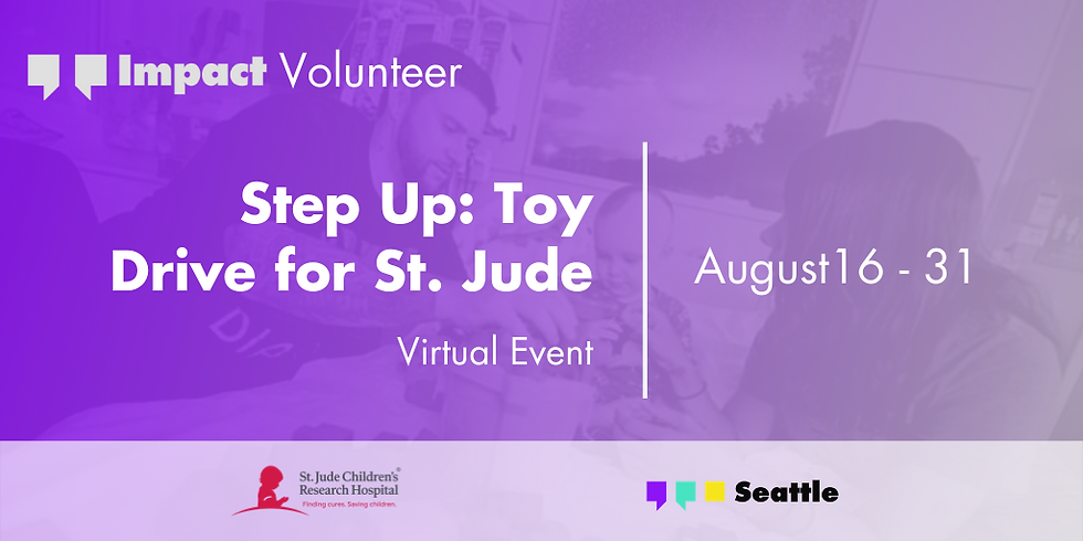 Step Up: Toy Drive for St. Jude