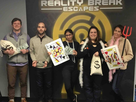 Escape the Room with the YP Impact Team