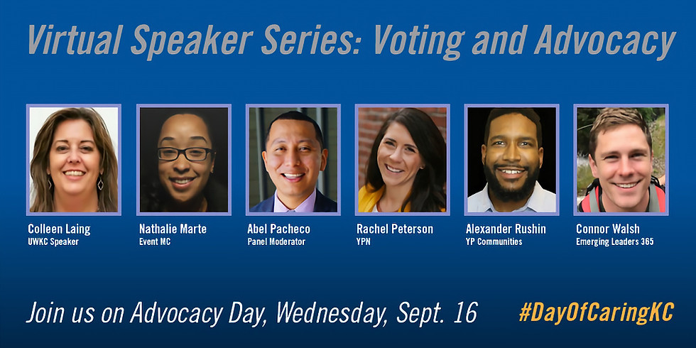 Voting and Advocacy | Virtual Speaker Series
