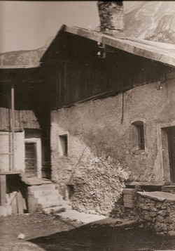 Le chalet avant 1971