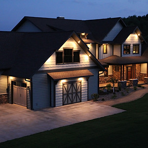 Custom Home with Sport Court