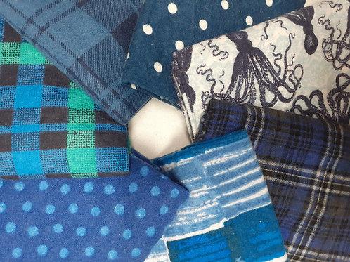 Towels - Blue