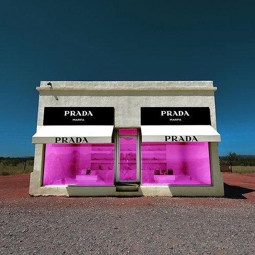 Hot Pink Prada