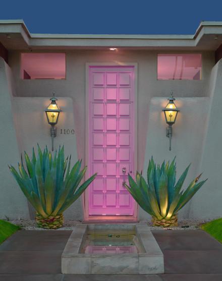 #Thatpinkdoor