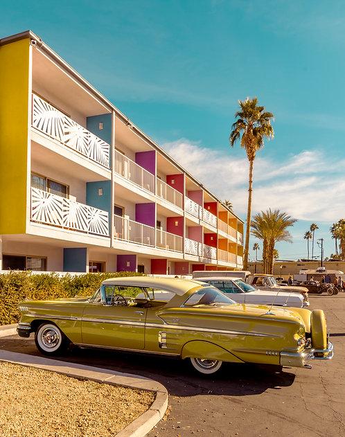 Gold '56 Chevy Impala