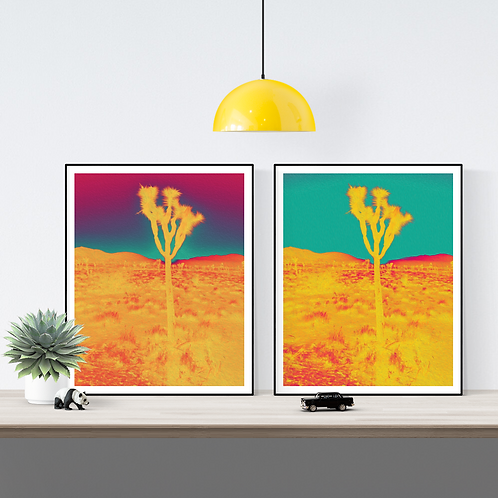 Joshua Tree Series I  (Set of 2)