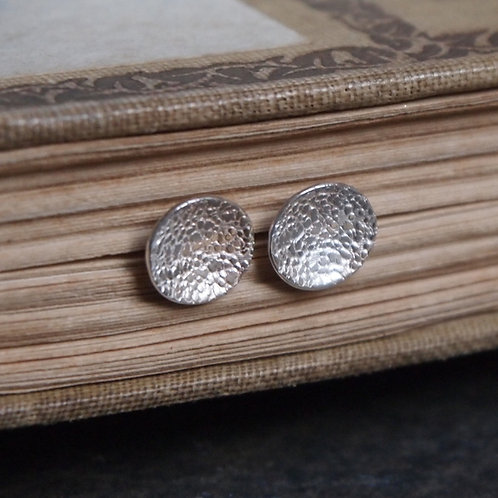 Domed Silver Studs