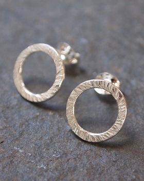 SHOP | Silver Stud Earrings | ARC Jewellery | Cambridge