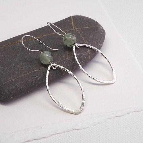 Stylised Leaf  Earrings