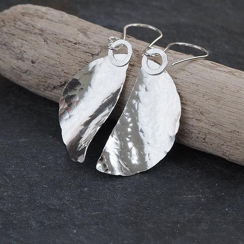 'Blowing in the wind' Silver Earrings