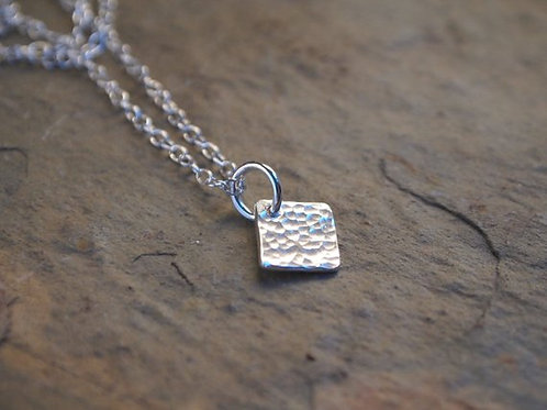 Small Square Pendant