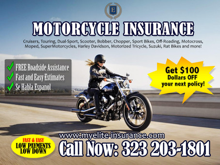 Why Motorcycle insurance is very important.