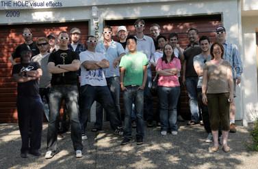 The Hole VFX Crew