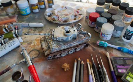 Tiger 1    Weathering
