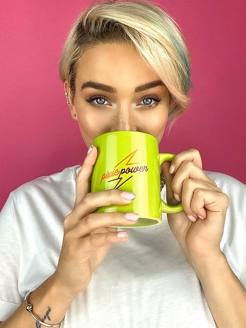 Pixie Power Mug in Matcha Green