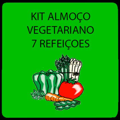 Kit Vegetariano 7 Refeições