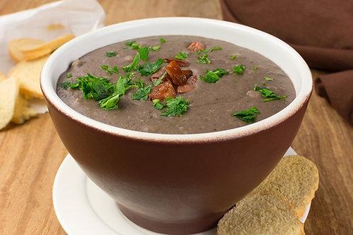 Brasileira | Sopa de Feijão com Legumes, Calabresa e Macarrão | 400g