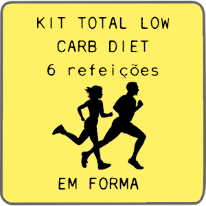 Kit Total Low Carb   6 Refeições