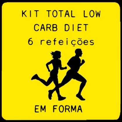 Kit Total Low Carb | 6 Refeições