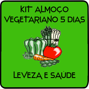 Kit Vegetariano 5 Refeições