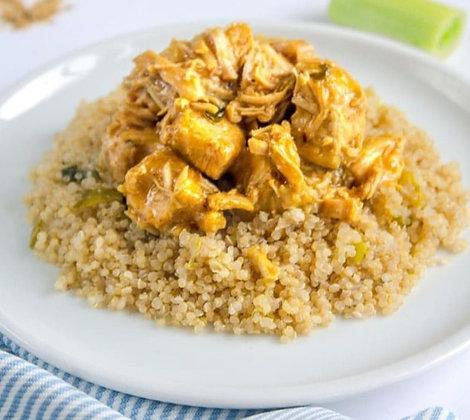 "Frango ao Curry + ""Cuscuz"" de Quinoa | 300g"