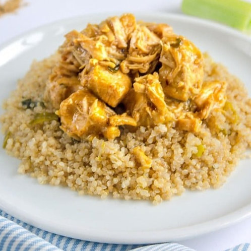 "Frango ao Curry + ""Cuscuz"" de Quinoa   300g"