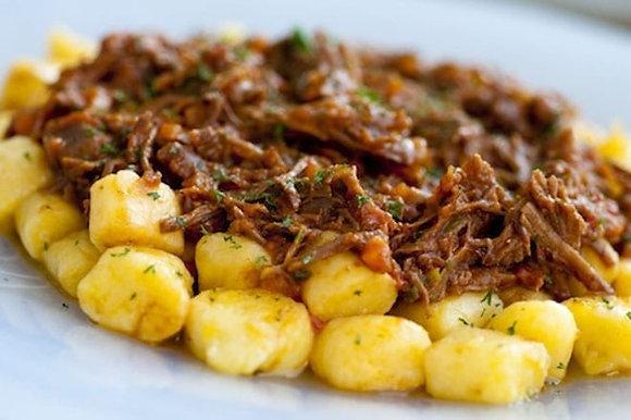 Nhoque de Mandioquinha + Ragu de Carne Bovina | 320g