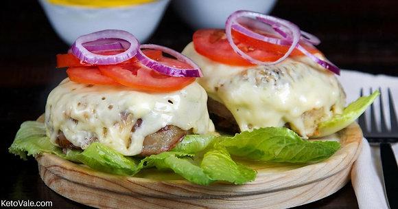 Hambúrguer de Costela + Legumes e Tomates Assados | 250g