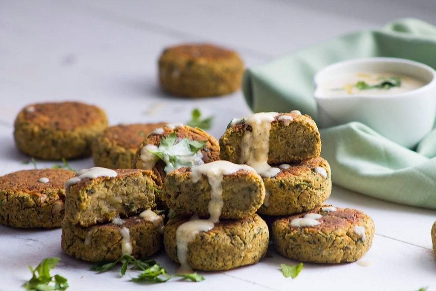 Falafel + Molho Tahine + Arroz com Lentilhas | 320g