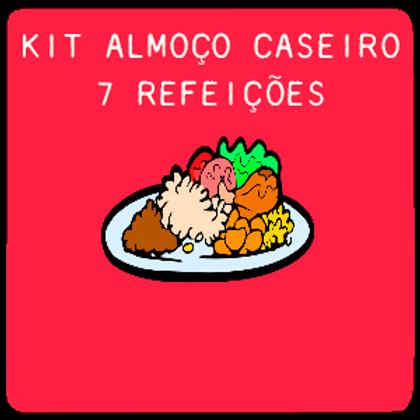 Kit Almoço Caseiro | 7 Refeições