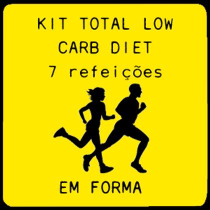 Kit Total Low Carb | 7 Refeições