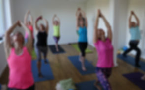 Vinyasa Yoga in der YEP Lounge in Bremen