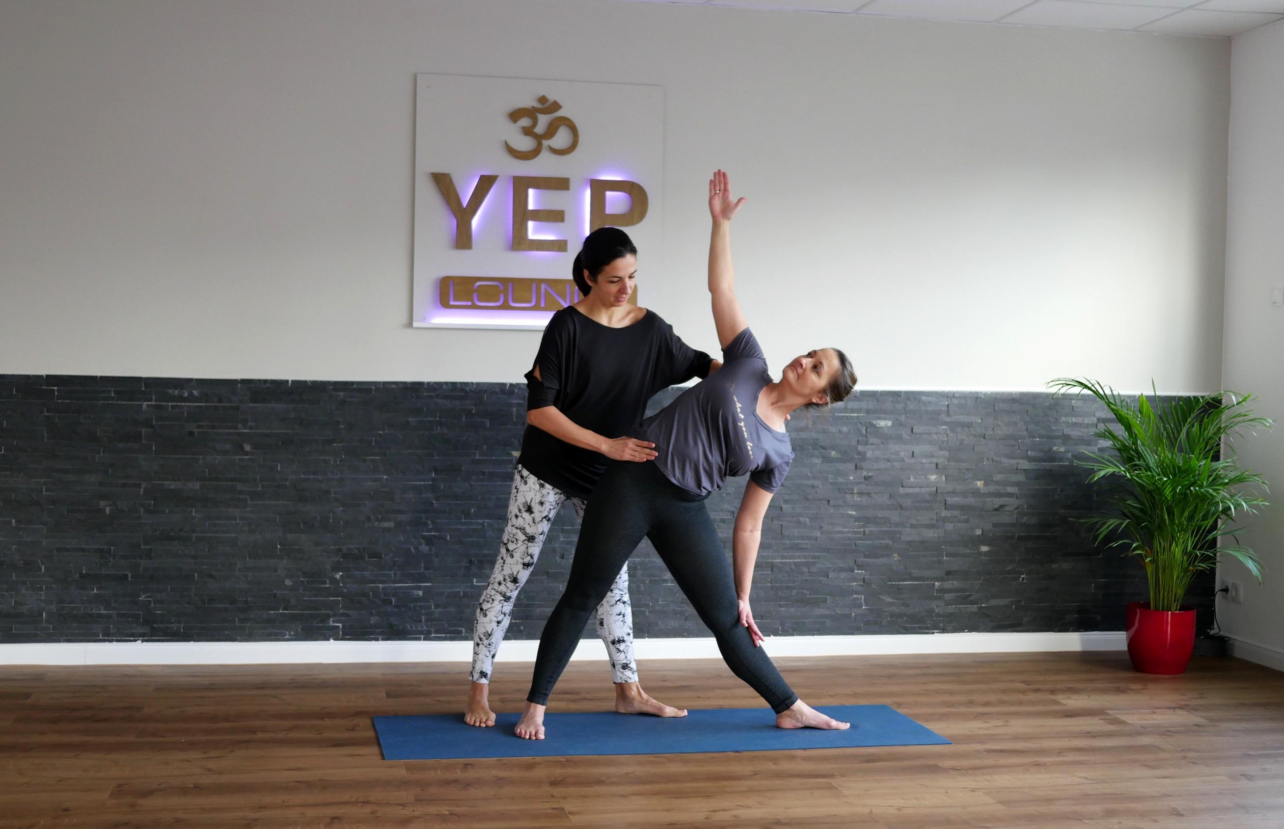 Personal Yoga in der YEP Lounge