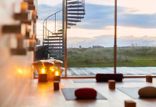 Yoga Retreat im Strandgut Resort in St. Peter Ording mit YEP Lounge