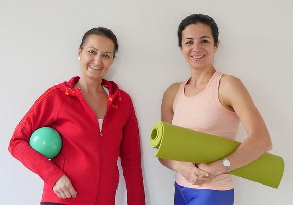 Yoga Trainerin in Bremen - Yulia Eberle und Andrea Schönfelder