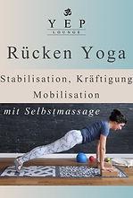 Selbstmassage mit myfoszialen Bällen in der Yoga Praxis mit Yulia Eberle, YEP Lounge in Bremen