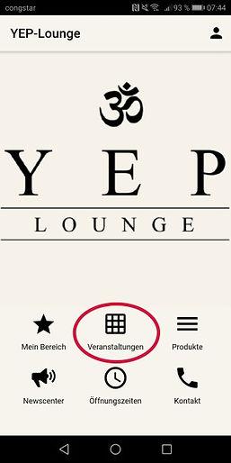 YEP Lounge aktuelle Veranstaltungen Yoga Bremen