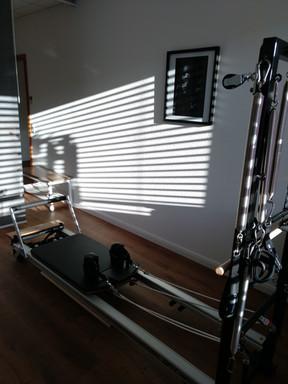 Reformer Pilates Gerätetraining
